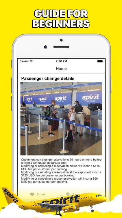 GuideBook for Spirit Airlines screenshot-3