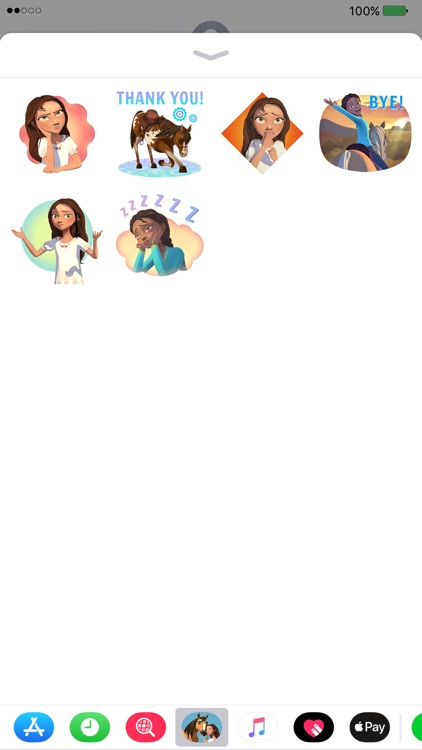 Spirit Riding Free Stickers screenshot-2