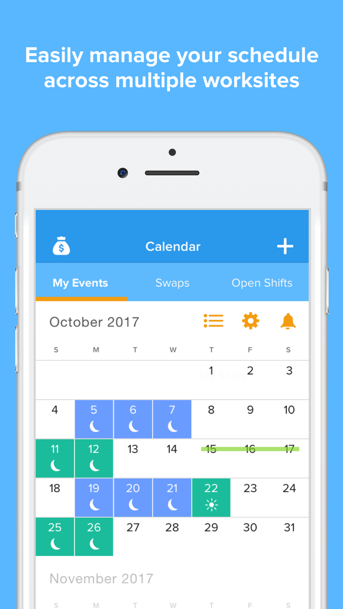 NurseGrid Mobile Screenshot