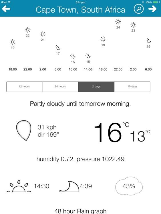 Weather Edge HD screenshot-4