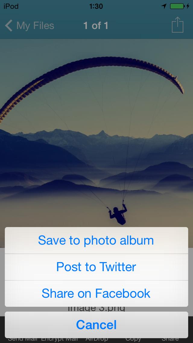 WinZip: #1書類圧縮/圧縮解除ツールのおすすめ画像5