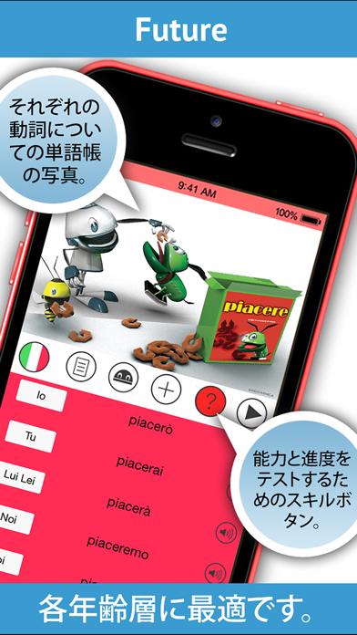 イタリア語の動詞を学ぶ.のおすすめ画像3