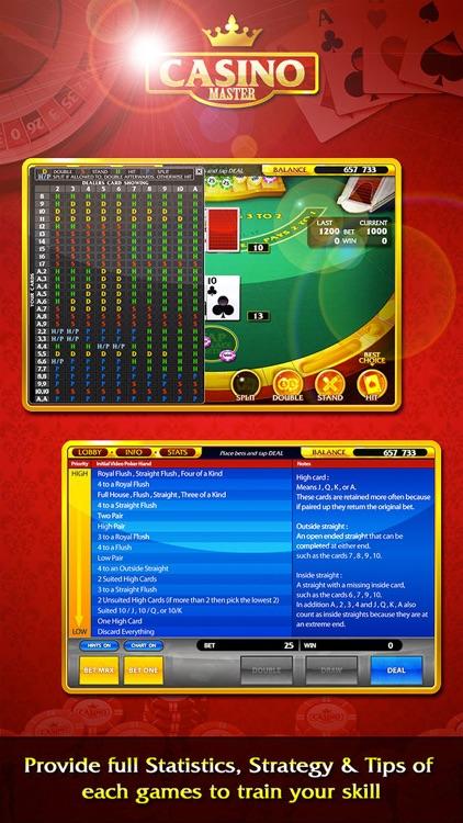 Casino Master - Slots Poker screenshot-3