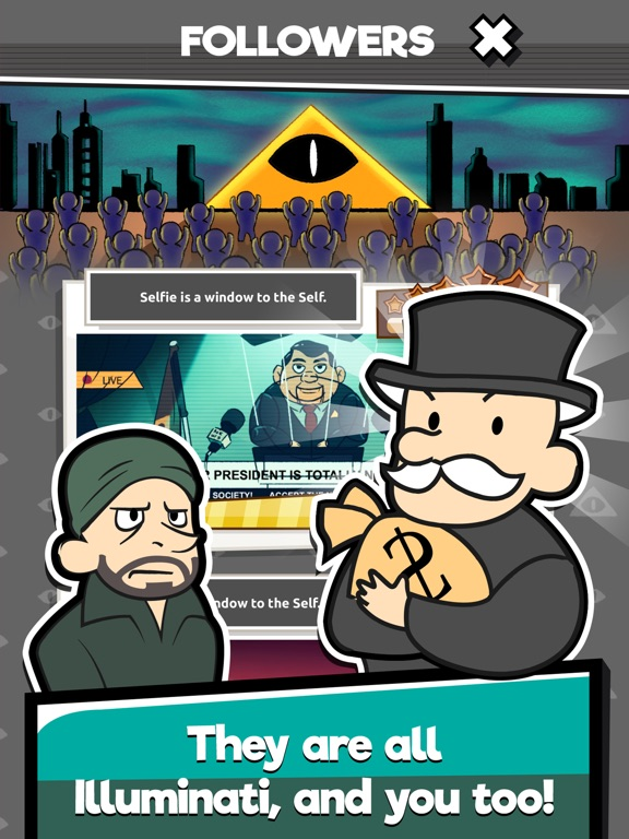 We Are Illuminati - Clicker screenshot #2