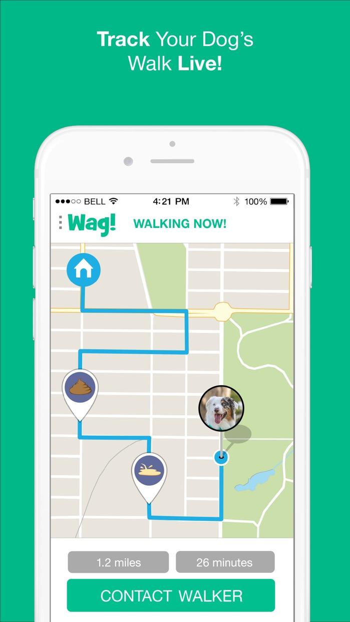 Wag! - Instant Dog Walkers Screenshot
