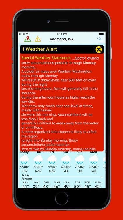 Blue Days - Hyperlocal Weather screenshot-4