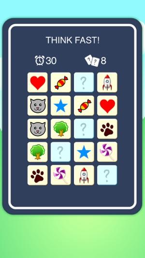 Think Fast - Memory Game Screenshot