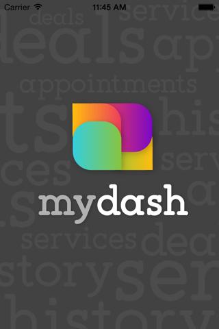 MyDash Mobile - náhled