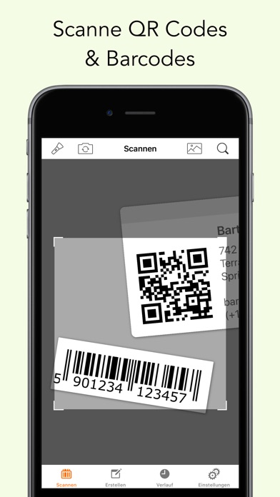 Screenshot for Barcode & QR Code Scanner in Germany App Store