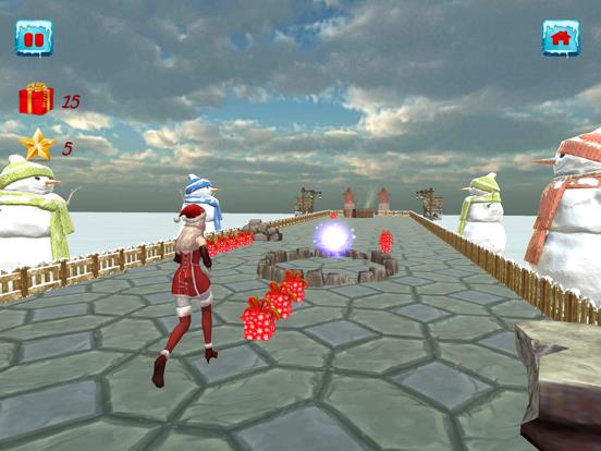 Christmas Santa Girl Run screenshot 1