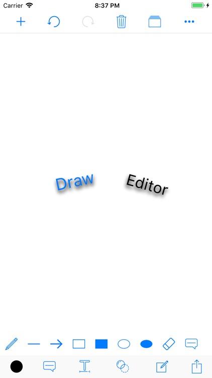 Draw Editor - Drawing on Photo