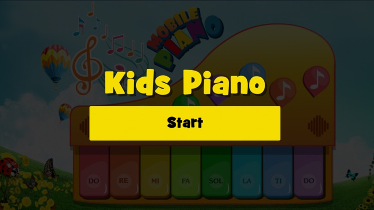 Mobile Kids Piano