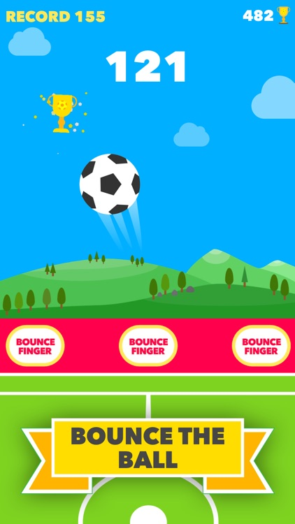 Bounce Finger Soccer screenshot-0