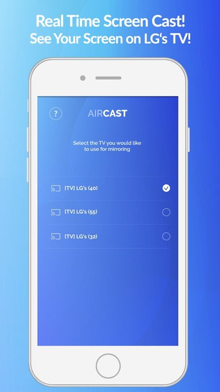 Air Cast - LG Smart TV Mirror - Online Game Hack and Cheat