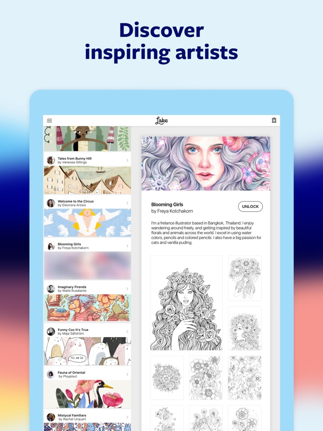 Lake Coloring Books On The App Store