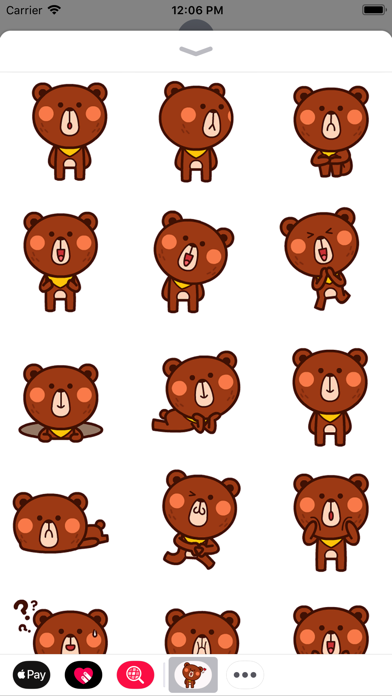 点击获取Mr Brown Bear Animated