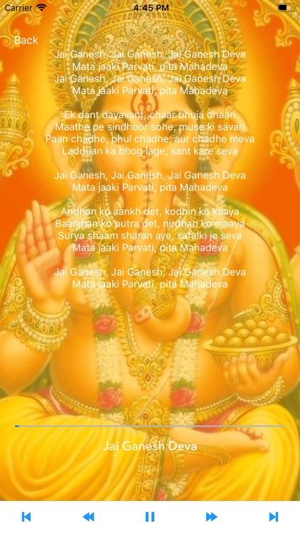 Om - Hindu Mantras and Bhajans screenshot-4