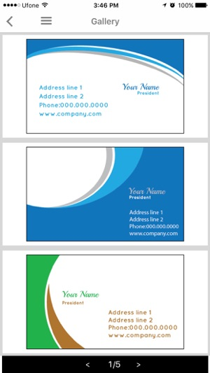 Easy business card maker designmantic on the app store reheart Choice Image