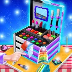 Activities of Cosmetic Box Cake Game! Make Edible Beauty Box