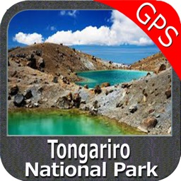 Tongariro National Park GPS charts Navigator