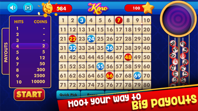 Keno: Lottery Casino Game screenshot three