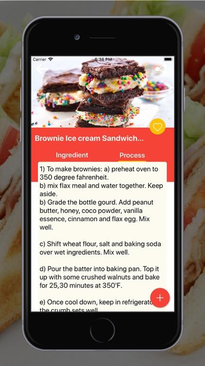 Sandwich Recipes In English