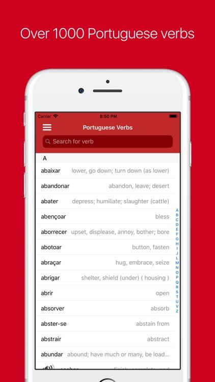 Portuguese Verb Conjugator screenshot-0