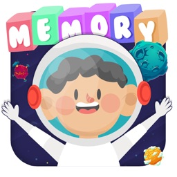 Memory game for kids - Space