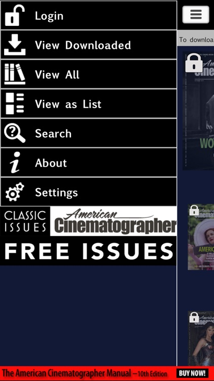 American Cinematographer Mag screenshot-4