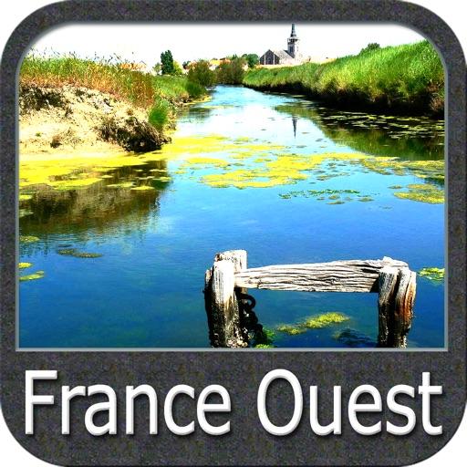 France Atlantic GPS Charts