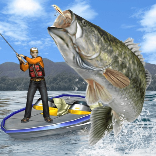 Bass fishing 3d premium by pascal inc for Bass fishing apps