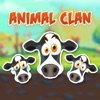 Animal Clan Cow Stickers