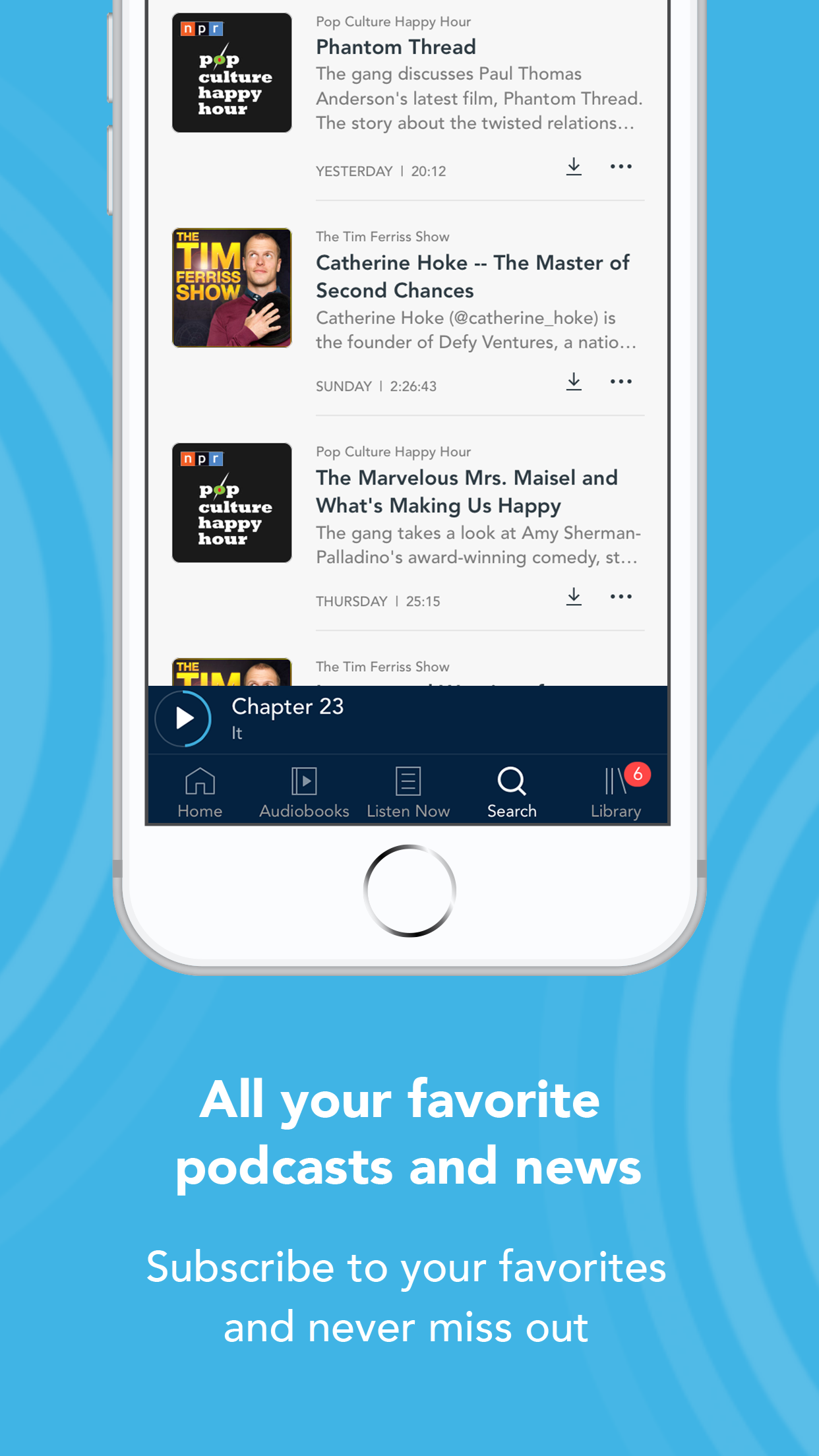 Otto - Audiobooks & Podcasts Screenshot