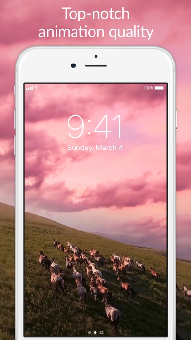 Amazing moving wallpapers ONLY for iPhone X, iPhone 8 & iPhone 8 Plus, iPhone 7 & 7 Plus, iPhone 6s & 6s Plus! Make your iPhone look awesome!
