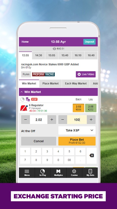 BETDAQ Exchange Betting