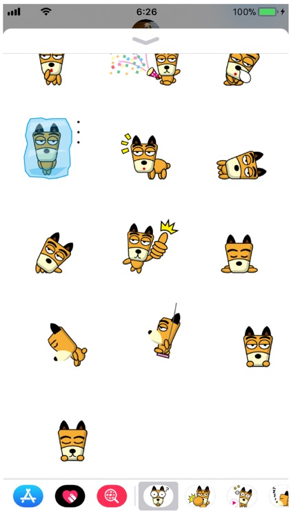 TF-Dog 2 Stickers screenshot-3