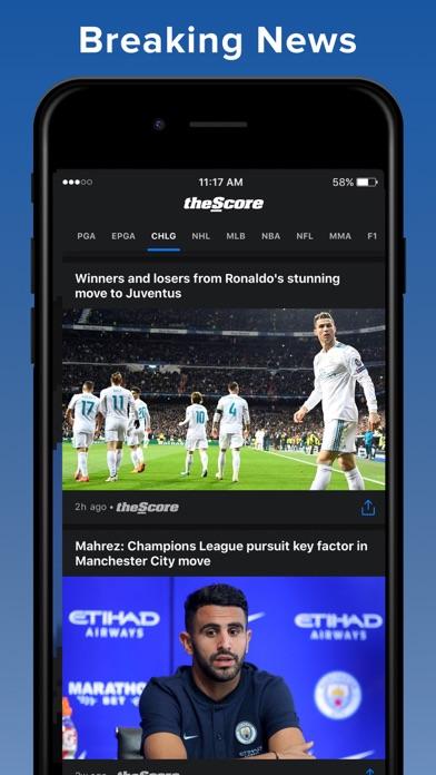 theScore: Sports News & Scores screenshot four