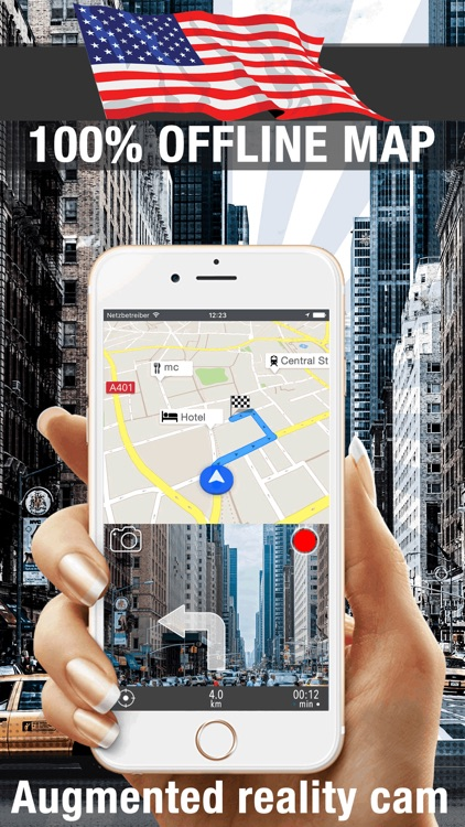 USA Offline map GPS navi