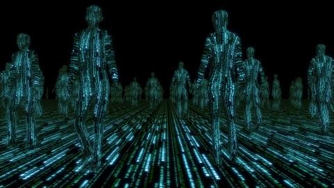 Binary Rain Man Wallpaper - Matrix Edition | App Price Drops