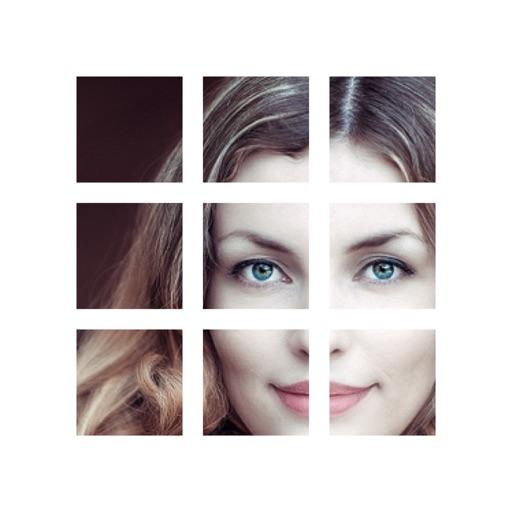 Photo Grid Split - tiles grid for profile page