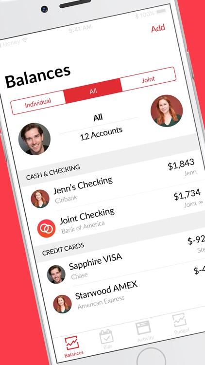 Honeydue: Couples Finance screenshot-0