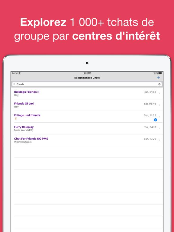 Screenshot #6 pour Tchat anonyme & rencontres app