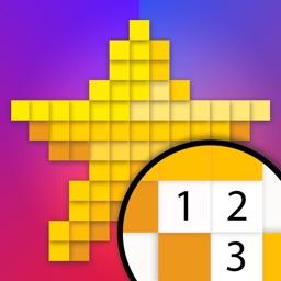 Pixel Land Color by Number Art