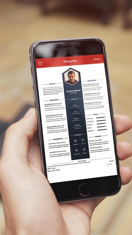 Resume Maker - Creator