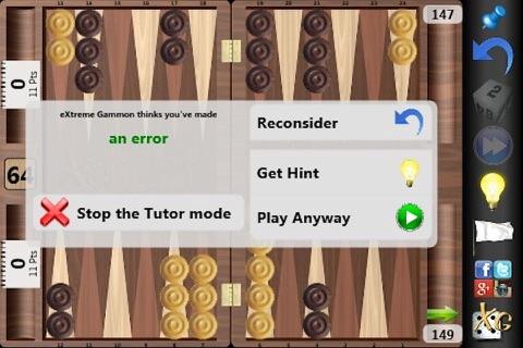 XG Mobile Backgammon - náhled
