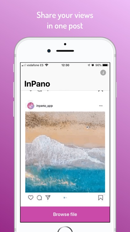 InPano for Instagram