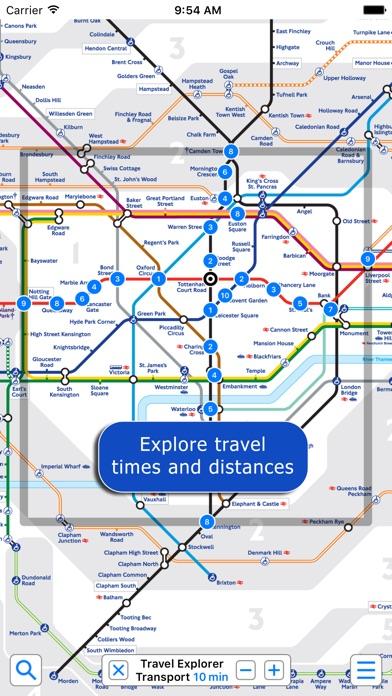 Screenshot for London Underground by Zuti in Sweden App Store
