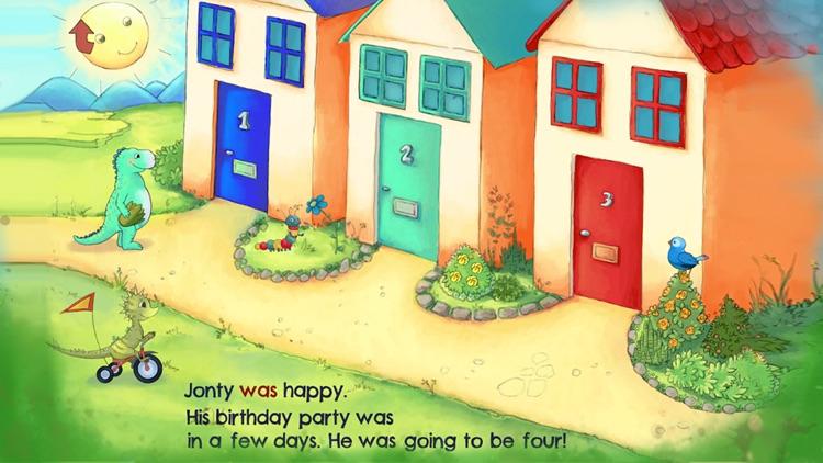 Jonty The Dinosaur's Birthday