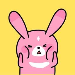 Grumpy Bunny Animated Stickers