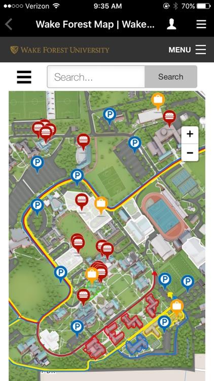 WFU Mobile Web screenshot-3